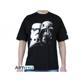 T-Shirt Star Wars - Vador Troopers Homme Taille Xl