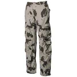 Pantalon Cargo Defense Vintage Camouflage Sable Trash Wash