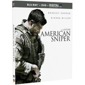 American Sniper - Combo Blu-Ray+ Dvd + Copie Digitale de Clint Eastwood