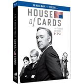 House Of Cards - Int�grale Saisons 1-2-3 - Blu-Ray+ Copie Digitale de David Fincher
