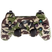 Manette Playstation 3/Ps3 Bluetooth Camouflage