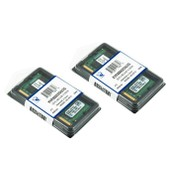 Kingston 4Go ( 2x 2Go ) DDR2 800 PC2-6400 PC2-6300 2 GB SO DIMM 200 broches KVR800D2S6/2G