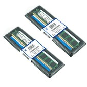 Kingston 4Go ( 2x 2Go ) DDR2 800MHz PC2-6400 / PC2-6300 240 broches KVR800D2N6/2G