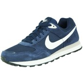 Nike Md Runner Txt Chaussures Mode Sneakers Homme Cuir Suede Bleu