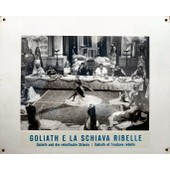 Photo Cartonn�e D'exploitation ( Format 26 X 31 Cm ) Du Film De 1963 De Mario Caiano Avec Massimo Serato, Gordon Scott, Goliath Et L'esclave Rebelle