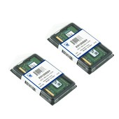 Kingston 8Go ( 2x 4Go ) DDR3 1333MHz PC3-10600 (204 broches) SO DIMM KVR13S9S8/4 m�moire