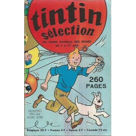 Tintin Selection Numero Special Hors Serie 1