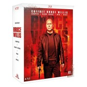 Coffret Bruce Willis : Looper + Sans Issue + Red + Red 2 - Pack - Blu-Ray de Rian Johnson