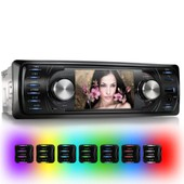 Autoradio 1din Bluetooth 7led Xomax Xm-Vrsu311bt / 1din + Mp3 + Usb + Mpeg4 + Mp3 + Wma + Jpg +