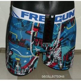 Boxer Freegun New York Liberte Red Blue - Neuf