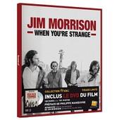 Jim Morrison : When You're Strange ( Livre 128 Pages Avec 101 Photos + Le Dvd Du Film : Exclusivit� Magasins Fnac ) de ( pr�face : philippe manoeuvre )