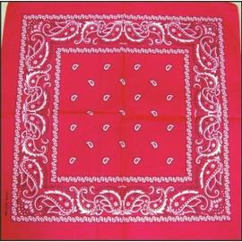 Bandana 100% Coton Plusieurs Coloris Disponibles