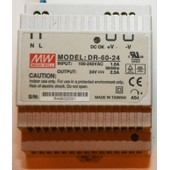 Alimentations Mean Well Dr-60-24 *24v/2.5a Din-Rail