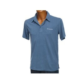 Polo Manches Courtes Columbia Sunridge Whale Mc Polo Bleu 24405