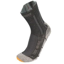 Chaussettes De Marche Randonn�e X-Socks Trek Silver Cho7 Gris 35039