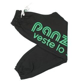 Pantalon De Surv�tement Panzeri Uni H Noir/Vert Jersey Noir 29303