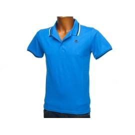 Polo Manches Courtes Kappa May Bleu Polo H Bleu 43337