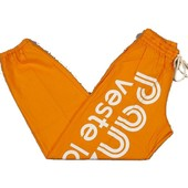 Pantalon De Surv�tement Panzeri Uni H Orange Jersey Orange 60330