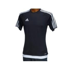 Tee Shirt Manches Courtes Adidas Performance Estro Noir Climalite Noir 44149