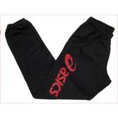 Pantalon De Surv�tement Asics Sigma Noir/Rouge Pantalon Noir 86428