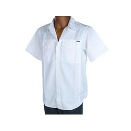 Chemise Manches Courtes Columbia Silver Ridge Blc Mc Shirt Blanc 84884