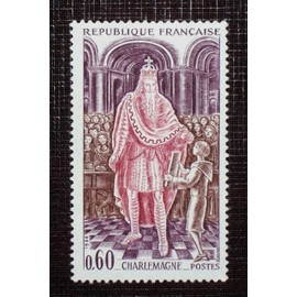 FRANCE N° 1497 neuf sans charnière de 1966 - 60c « Charlemagne »