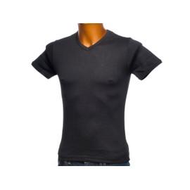 Tee Shirt Manches Courtes Crossby Fit B Black Mc Tee Noir 81542