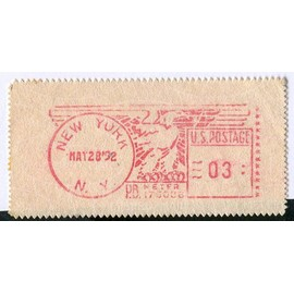 Timbre franchise USA - U.S. Postage 03 - New York May 28