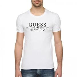 T Shirt Guess Ucpm29 Blanc
