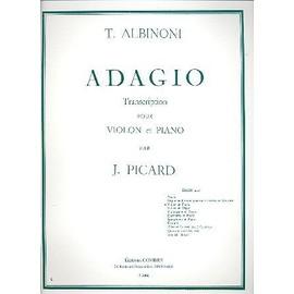 adagio de T. Albinoni - Transcription pour violon et piano