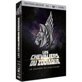 Les Chevaliers Du Zodiaque : La L�gende Du Sanctuaire - �dition Collector Blu-Ray+ Dvd + Livre de Keiichi Sato