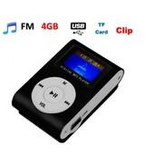 Lecteur Baladeur MP3 Ecran LCD NOIR + Carte SD 4 Gb/Go - Kowi