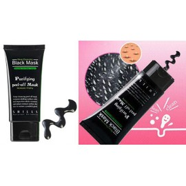 Shills, Black Mask 50ml - Masque Visage Beaut� Gommage Nettoyant Purifiant Exfoliant Anti-Acn� Revitalisant