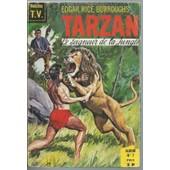 Album Reli� / Recueil ( Collection Vedettes T.V. ) : Tarzan, Le Seigneur De La Jungle N� 7 : Tarzan N� 19 ( 1er Octobre 1969 ) + N� 20 + N� 21 ( 1er D�cembre 1969 ) de edgar rice burroughs / collectif