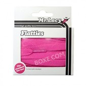Mr.Lacy Flatties Lipstick Lacets Plats Rose Fluo Flashy