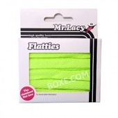 Mr.Lacy Flatties Neon Lime Yellow Lacets Plats Jaune Fluo