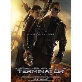 Terminator: Genisys -V�ritable Affiche De Cin�ma Pli�e -Format 120x160 Cm - De Alan Taylor Avec Arnold Schwarzenegger, Emilia Clarke, Jai Courtney, Jason Clarke, J.K. Simmons, Byung-Hun Lee - 2015
