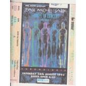 Jean Michel Jarre Ticket Concert Europe In Concert Chronologie Wembley 28/08/93