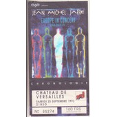 Jean Michel Jarre Ticket Concert Europe In Concert Chronologie Chateau De Versailles 25/09/93
