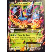 Carte Pokemon Francaise Xy 3 Poings Furieux Mega Scarhino Ex 5/111