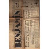 Benjamin De 1936, Record Altitude En Avion, Salon Automobile...N� 361