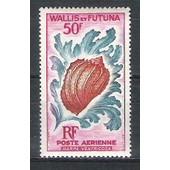 Wallis & Futuna, 1962-1963, Poste A�rienne, Vie Marine, N�18, Neuf.