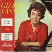 La Joie D'aimer (J. Broussolle - D. Tiomkin) 2'55 - Pepito (G. Bertret - C. Jollet / C. Tayler - A. Truscott) 2'45 / Fichez-Moi Donc La Paix (J. Plante, J. Barreto) 2'30 - M�lodie, Myst�rieuse 3'25 - Gloria Lasso (Accompagn�e Par Christian Chevallier Et Les