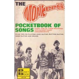 THE MONKEES pocketbook of songs