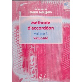 Méthode d'Accordéon Accordéon Volume 3 : Virtuosité
