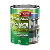 Lasure Mate Opaque Solid Color Stain Owatrol - 2.5 Litres - Gris Antique