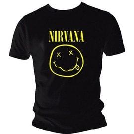 T-shirt nirvana grande taille US : 3XL 4XL 5XL