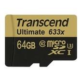 Transcend Ultimate 64Go 633x microSDXC UHS-I U3