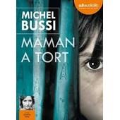 Maman A Tort - Cd Mp3 - Michel Bussi