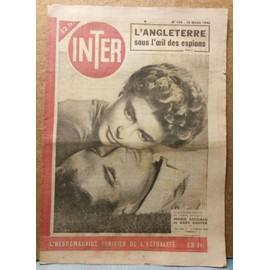 Inter 126 (Ingrid Bergman, Gary Cooper, Pierre Richard Willm)